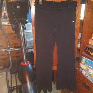PINK by Victoria's Secret black leggings size L